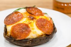 Portobello Pizza: Just cause you can't eat bread on keto doesn't mean you can't have pizza! Load up the toppings on a Portobello cap and you've got yourself a pizza!