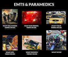 What We Do As EMTs & Paramedics