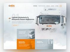 Etis Logistic Ui Design by Eray Yesilyurt #Design Popular #Dribbble #shots