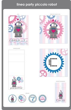 design medium tema piccolo robot