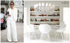 All white: fashion x decor #white #fashion #decor #branco #casadasamigas