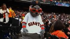 Great article about the man who brings Lou Seal to life for the San Francisco Giants.