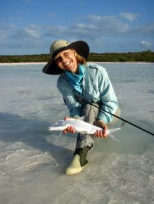 3d245e4ee79b Fly Fishing Guide Wanda Taylor with a nice bonefish! I ve had the honor of  attending one of Wanda   Gary s fly fishing classes.