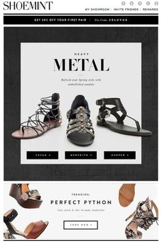 Shoemint #newsletter