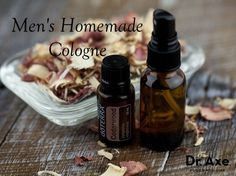 Try this homemade men's cologne recipe! It's easy to make and the essential oils provide health benefits while smelling amazing! Try it today!