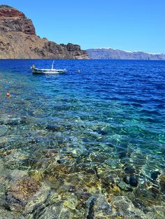 Therasia, near Santorini, Greece