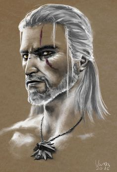 nikivaszi:  Geralt of Rivia