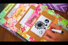 Idea from Bethany Mota! Adorable DIY notebooks! Go check her out www.youtube/user/macbarbie07