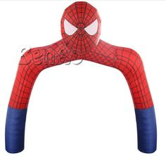 768.00$  Watch now - http://alimyd.worldwells.pw/go.php?t=32740766770 - R168 Free shipping+blower New Design Inflatable Spider Man Arch/inflatable advertising finish line arch