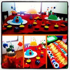 Beans monster baby shower!!