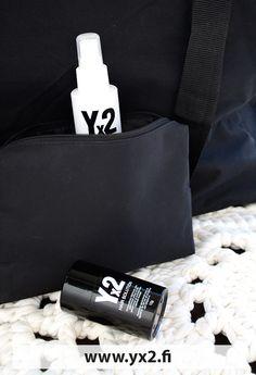 VINKKI: Yx2 pienempi 12g on kätevä matkakoko #yx2 #hiustuuhenne #luonnonkeratiini