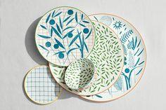 A Walk in the Garden dinner plate – Tableware Design 2020