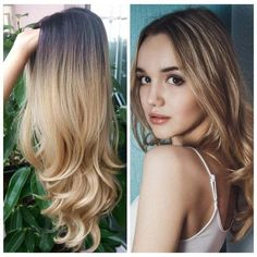 2020 Fashion Blonde Wigs For White Women 8A Hair Color Platinum Blonde - Wcwigs Color Ombre Hair, Brown Ombre Hair, Blonde Ombre, Blonde Balayage, Ash Blonde, Platinum Blonde, Ash Ombre, Ash Color, Long Hair Wigs