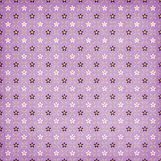 Pattern floral lila y marrón
