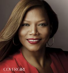 COVERGIRL Queen Latifah is wearing COVERGIRL Queen Collection Lipcolor in See Red. http://www.covergirl.com/queencollection-lipcolor