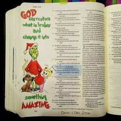 Learn How To Journal And Improve Your Life Bible For Kids, My Bible, Bible Scriptures, Bible Quotes, Bible Drawing, Bible Doodling, Bible Study Journal, Journal Quotes, Art Journaling
