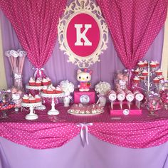 Hello Kitty Candy Buffet by Bizzie Bee Creations by Iris