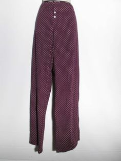 Tommy Hilfiger New Women's Purple Pajama Full Length Pants Large NWOT
