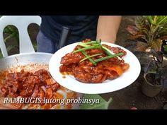RAMBUGIS at REBUSADO Lutong probinsya |Batangas style - YouTube Batangas, Halo Halo, Filipino Dishes, Pinoy Food, Pork Recipes, Chili, The Creator, Soup, Beef