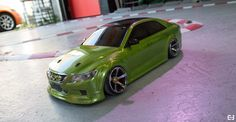 Painted with Testors Pactra 303414 Lime Ice. Model Kits, Race Cars, Remote, Lime, Racing, Cool Stuff, Projects, Drag Race Cars, Running