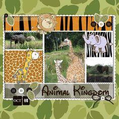 Zoo layout - cute!