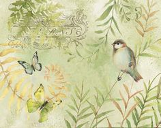 Little Sparrow pieces) 2 hrs 13 mins Art Vintage, Decoupage Vintage, Decoupage Paper, Vintage Images, Background Vintage, Paper Background, Paper Birds, Printable Designs, Printable Labels