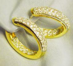 - 750 Gelbgold - #Brillanten 2,00ct  Qualität W-VVSI - Gewicht 10,06 Gr. - Brillanten sind von innen und außen besetzt - 22,94mm* 17,94mm
