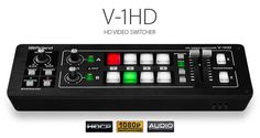 Roland V-1HD is a small 4 channel HDMI mixer, very suitable for livestreaming purposes