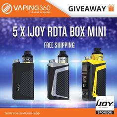5 x IJOY RDTA Box Mini Giveaway