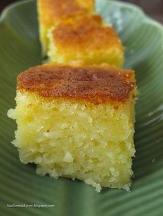 Malaysian Baked Cassava cake
