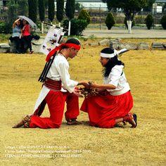 """Nuestra ceremonia de fin de veintena IZCALLI del año CE CALLI y clausura de fin del Curso-taller """"Nuestra Cultura Ancestral"""" (2013-2014)."""