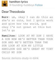 "A+ representation ""My little Hamilson"""