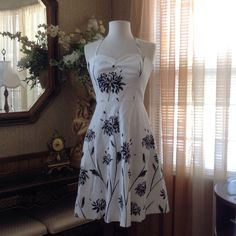 "Trina Turk sundress Never worn.  It measure 40"" long. Please see 3rd photo.                                                                      h Trina Turk Dresses"
