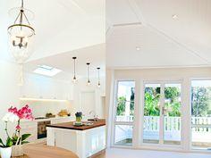 Avalon Beach House by Stritt Design Coastal Cottage, Coastal Style, Coastal Decor, Home Building Design, Building A House, House Design, Avalon Beach, Oval Coffee Tables, Table Shelves