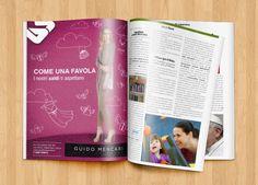 """Campagna marketing per fashion store """"Come una Favola"""": magazine. #outdoor #adv #brandstrategy #magazine #brandmarketing #GRAFFIOBrand"""
