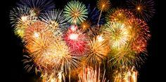 ¿Por qué son de colores los fuegos artificiales?