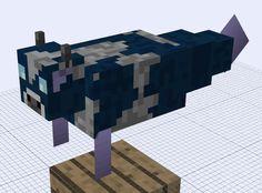 Minecraft Mob Ideas - Sea Cow by RedPanda7.deviantart.com on @deviantART
