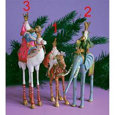 Hellige 3 Konger - Figur 3 - Konge på kamel - Contrast