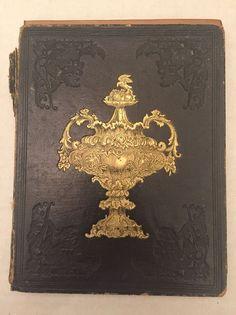 1841 Hand Written Poetry Book Miss Eliza D Bishop Watertown MA Massachusetts    eBay
