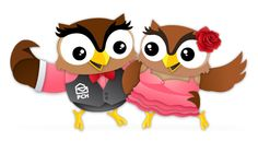 PCH on Twitter says........This little owl can really move on the dance floor! Edwin wants to know, do you love dancing?
