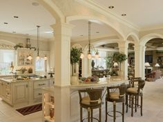 Modern French Country Decor | kitchen french style country french kitchen deco modern french country ...