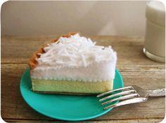 Sentí alimento coco crema pastel por milkfly en Etsy
