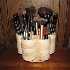 Amazon.com: 7 Cup Studio Rotating Colored Pencil Storage Holder Organizer, Holds 200+ Pencils, Cosmetic Makeup or Paint Brushes