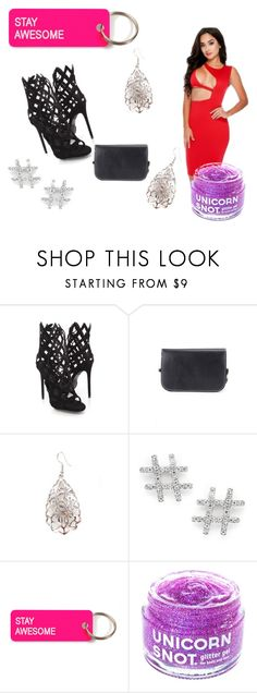 """""""The Lady In Red"""" by amiclubwear on Polyvore featuring Casa Reale, Various Projects, FCTRY, inspo, stylish, bodycondress, CagedHeels and amiclubwear"""