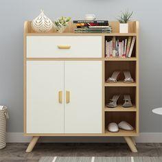 Shoe Cabinet Design, Shoe Storage Cabinet, Ikea, Wood Doors, Scandinavian Design, Hemnes, Home Furniture, Decoration, Modern