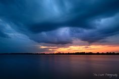 This is a shot I took last night. I was watching the weather forecast and they were predicting thunderstorm cells all around the area.