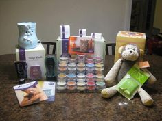 Scentsy's new Starter Kit      All this for $99  Picture does not show that you get 50 catalogs, 50 Layers brochures and 100 order forms and a website free for 3 month!  Plus, an awesome support system cheering you on! It's YOUR time! www.brandicoats.scentsy.us