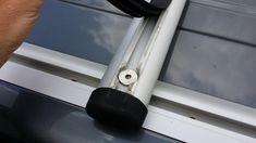 Projektvorstellung günstiger Eigenbau-Dachträger aus Solarunterkonstruktion - VW California Diskussionen, Infos und Lösungen - Caliboard.de - die VW Camper Community Solar, T5 Camper, Vw T4, Places, Fiction, Lugares