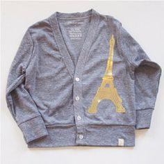 Eiffel Cardigan gold