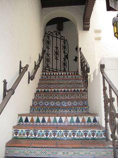 Stairs in Carmel